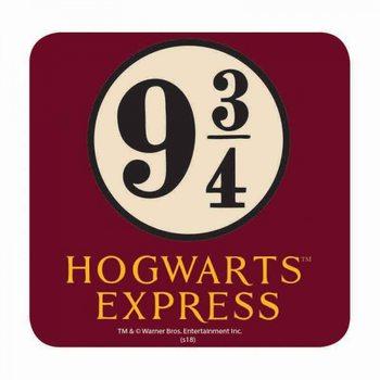 Bases para copos  Harry Potter - Platform 9 ¾