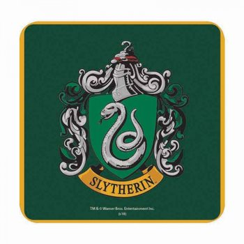 Bases para copos  Harry Potter - Slytherin
