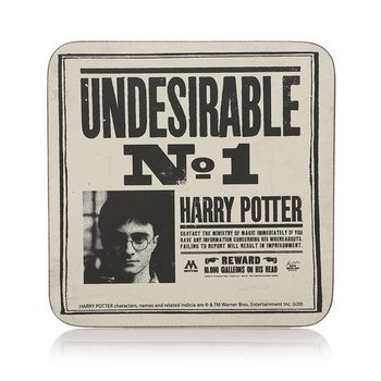 Bases para copos Harry Potter - Undesirable No1