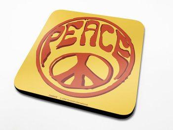 Bases para copos Peace