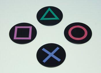 Bases para copos Playstation - Icons