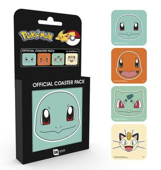 Bases para copos  Pokemon - Faces
