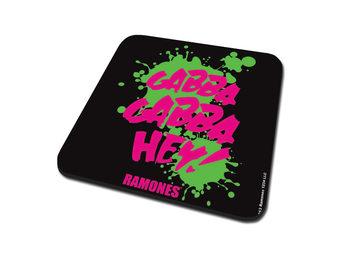 Bases para copos Ramones – Gabba Gabba Hey