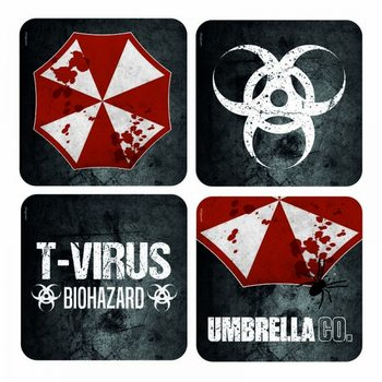 Bases para copos  Resident Evil - Lenticular