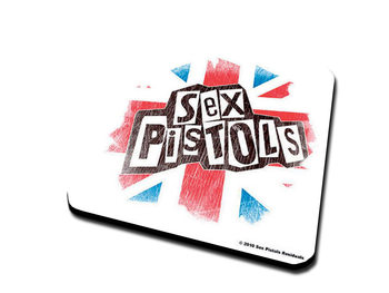 Bases para copos  Sex Pistols – Logo & Flag