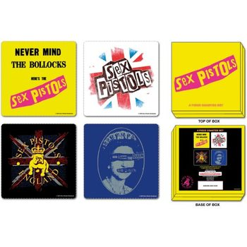 Bases para copos  Sex Pistols – Mix