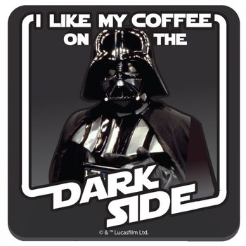 Bases para copos  Star Wars - Coffee On The Dark Side