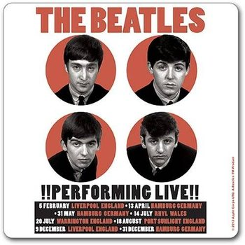 Bases para copos  The Beatles – Performing Live