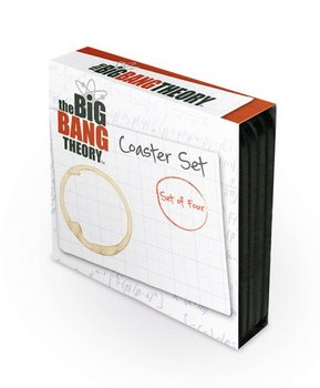 Bases para copos The Big Bang Theory - 4 coaster set