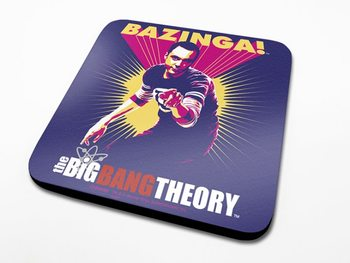 Bases para copos The Big Bang Theory - Bazinga Purple