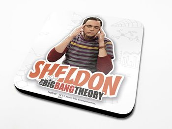 Bases para copos The Big Bang Theory - Sheldon