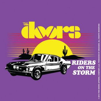 Bases para copos The Doors - Riders