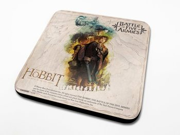 Bases para copos The Hobbit 3: Battle of Five Armies - Bilbo