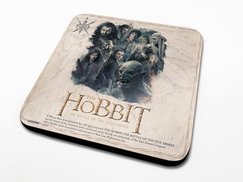 Bases para copos The Hobbit 3: Battle of Five Armies - Montage