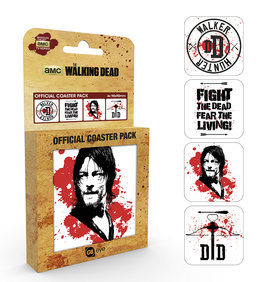 Bases para copos  The Walking Dead - Daryl