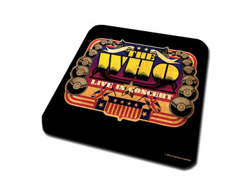 Bases para copos  The Who – Live In Concert