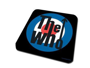 Bases para copos The Who – Target Logo