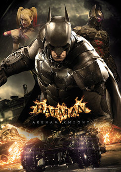 Batman: Arkham Knight - Battle Posters Metálicos