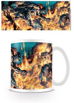 Cup Batman - Flames