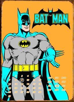 BATMAN POSE Plaque métal décorée