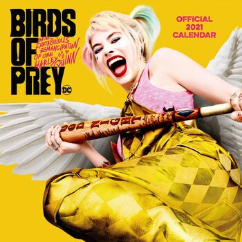 Calendar 2021 Birds Of Prey: And the Fantabulous Emancipation Of One Harley Quinn - Cosy Heart