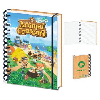 Bloco de notas Animal Crossing - New Horizons