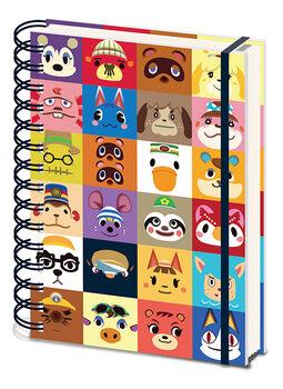 Bloco de notas Animal Crossing - Villager Squares