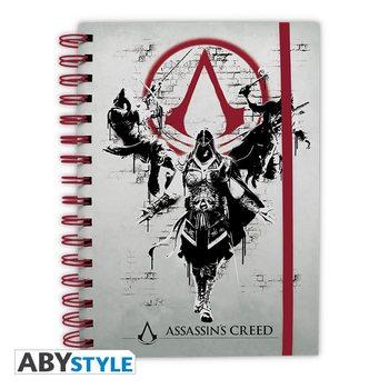 Bloco de notas Assassins Creed - Legacy