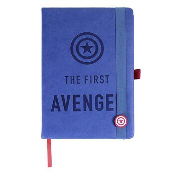 Bloco de notas Avengers - Captain America