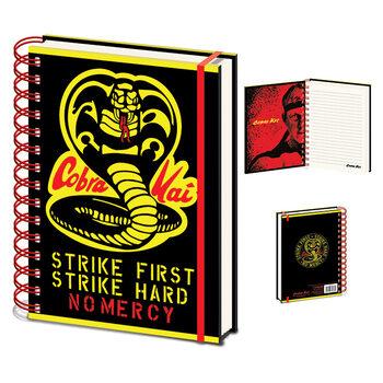 Bloco de notas Cobra Kai - No Mercy