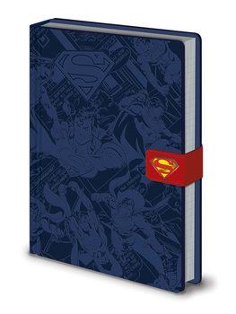 Bloco de notas DC Originals - Superman Montage Premium