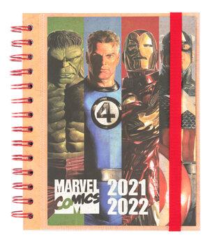Bloco de notas Diário Marvel