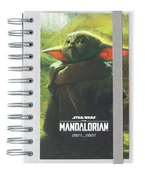 Bloco de notas Diário Star Wars: The Mandalorian