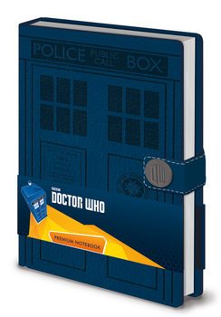 Bloco de notas Doctor Who - Tardis