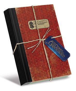 Bloco de notas Fantastic Beasts The Crimes Of Grindelwald - Hogwarts (B5)