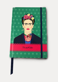 Bloco de notas Frida Kahlo - Green Vogue