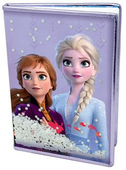 Bloco de notas Frozen 2 - Snow Sparkles