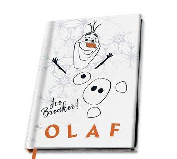 Bloco de notas Frozen2 - Olaf