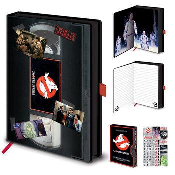 Bloco de notas Ghostbusters (VHS)