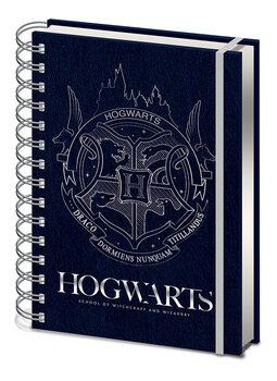 Bloco de notas Harry Potter - Cobalt Steel Crest