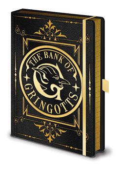 Bloco de notas Harry Potter - Gringotts