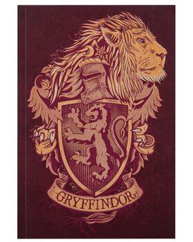 Bloco de notas Harry Potter - Gryffindor
