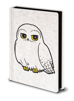 Bloco de notas Harry Potter - Hedwig Fluffy