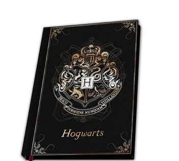 Bloco de notas Harry Potter - Hogwarts