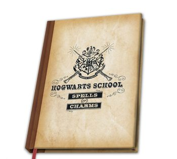 Bloco de notas Harry Potter - Hogwarts School