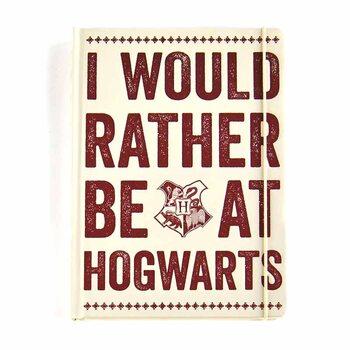 Bloco de notas Harry Potter - Hogwarts Slogan