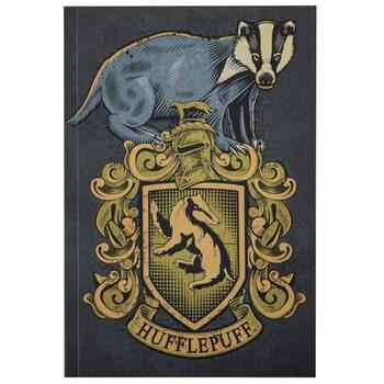 Bloco de notas Harry Potter - Hufflepuff