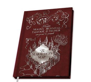Bloco de notas Harry Potter - Marauder's Map