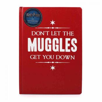 Bloco de notas Harry Potter - Muggle Get Down