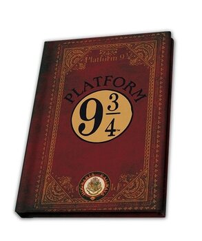 Bloco de notas Harry Potter - Platform 9 3/4 (A6)